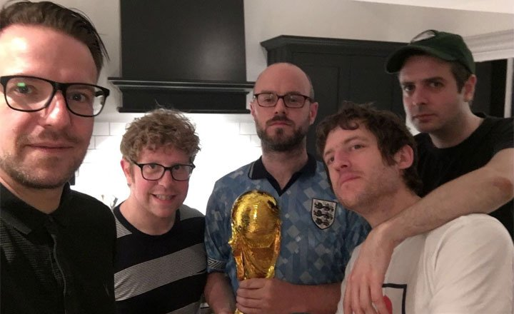 QUICKLY KEVIN NOMINATED FOR BRITISH PODCAST AWARD