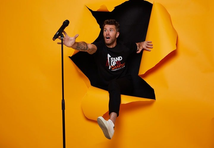 JOEL DOMMETT GETS SET TO VISIT 100 EDINBURGH FRINGE SHOWS IN 24 HOURS FOR STAND UP TO CANCER