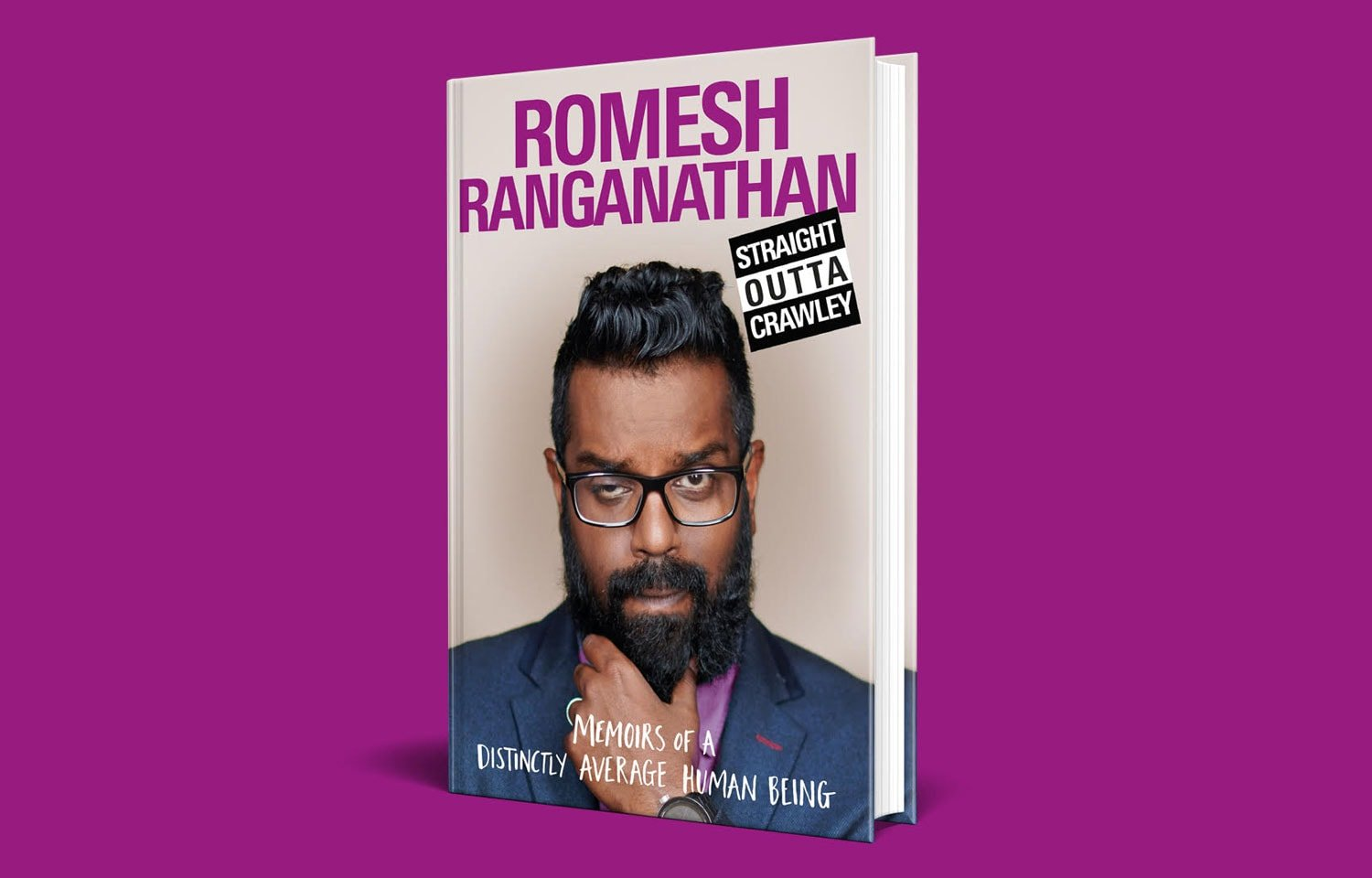 ROMESH RANGANATHAN'S STRAIGHT OUTTA CRAWLEY RELEASED SOON