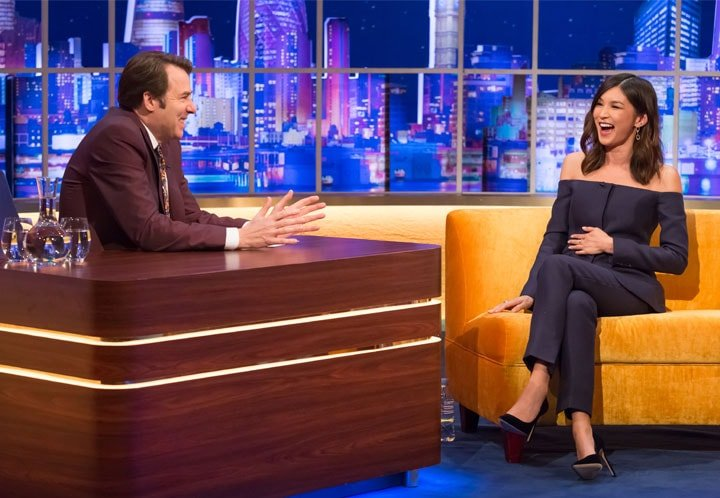 NEW SERIES OF THE JONATHAN ROSS SHOW CONTINUES ON ITV
