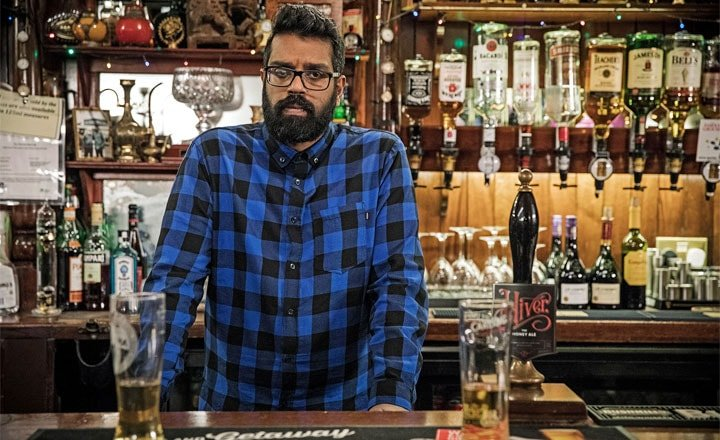 ROMESH RANGANATHAN'S SHOW THE RELUCTANT LANDLORD DEBUTS