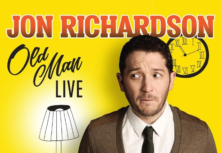 JON RICHARDSON: OLD MAN LIVE RELEASED ON DVD AND AVAILABLE TO BUY RIGHT NOW