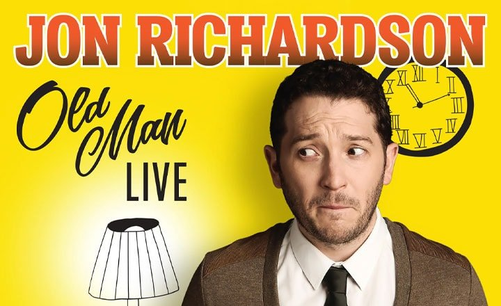 JON RICHARDSON: OLD MAN LIVE RELEASED ON DVD AND OUT NOW