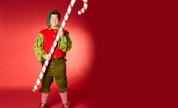 MICHAEL MCINTYRE'S CHRISTMAS CHARITY SHOW ON SALE NOW