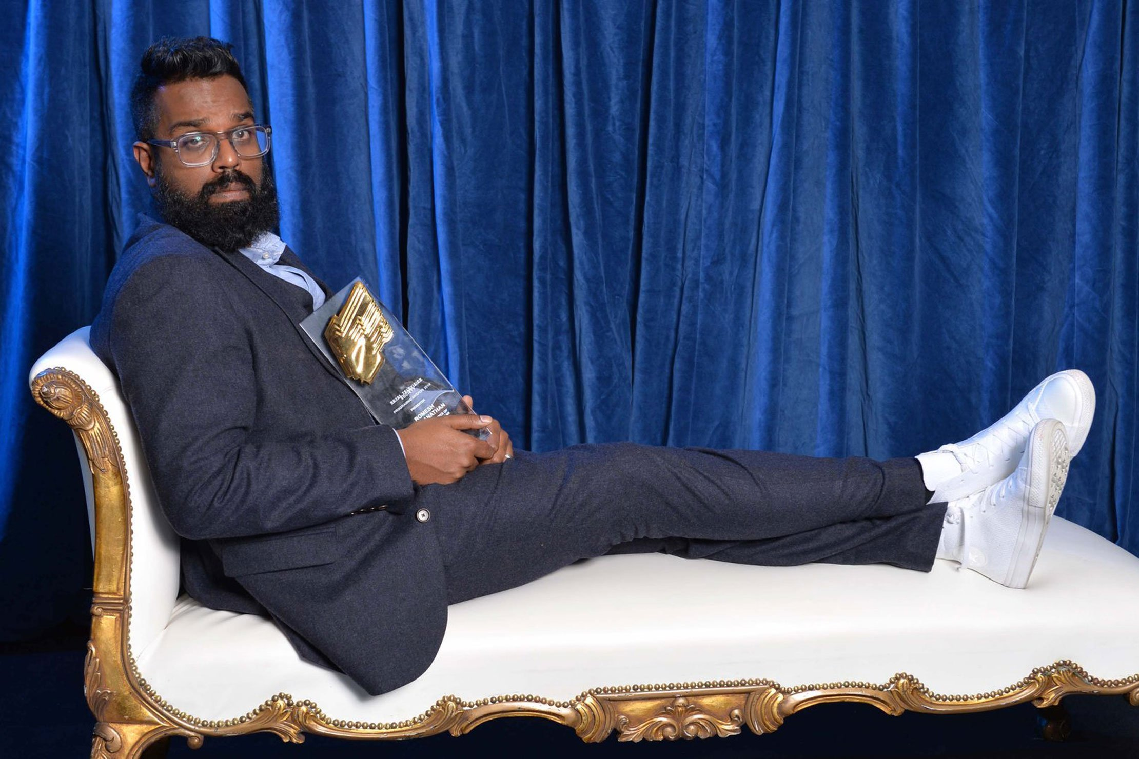 ROMESH RANGANATHAN AND THE LAST LEG WIN ROYAL TELEVISION SOCIETY AWARDS