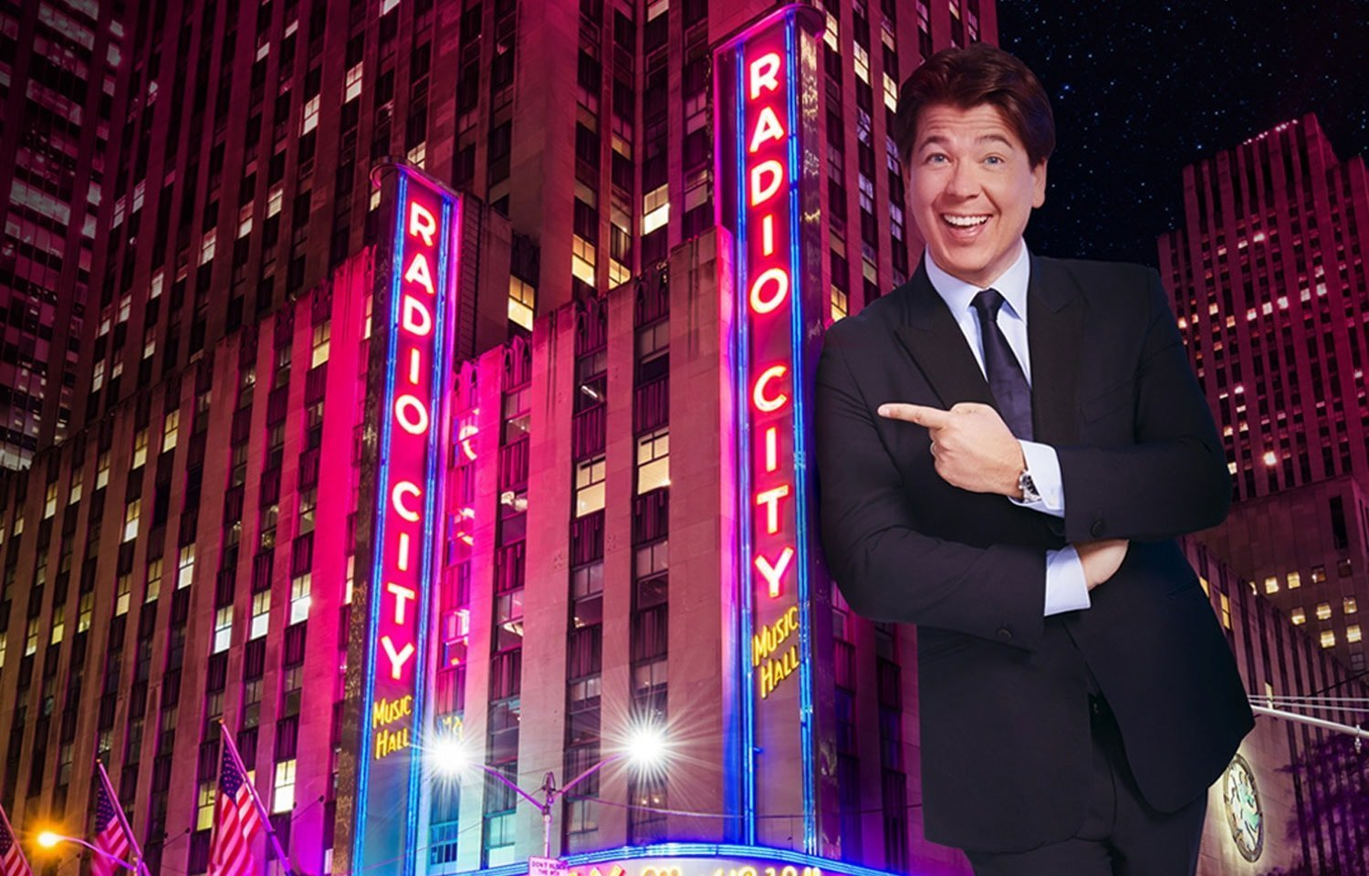 MICHAEL MCINTYRE LIVE AT NEW YORK'S RADIO CITY MUSIC HALL