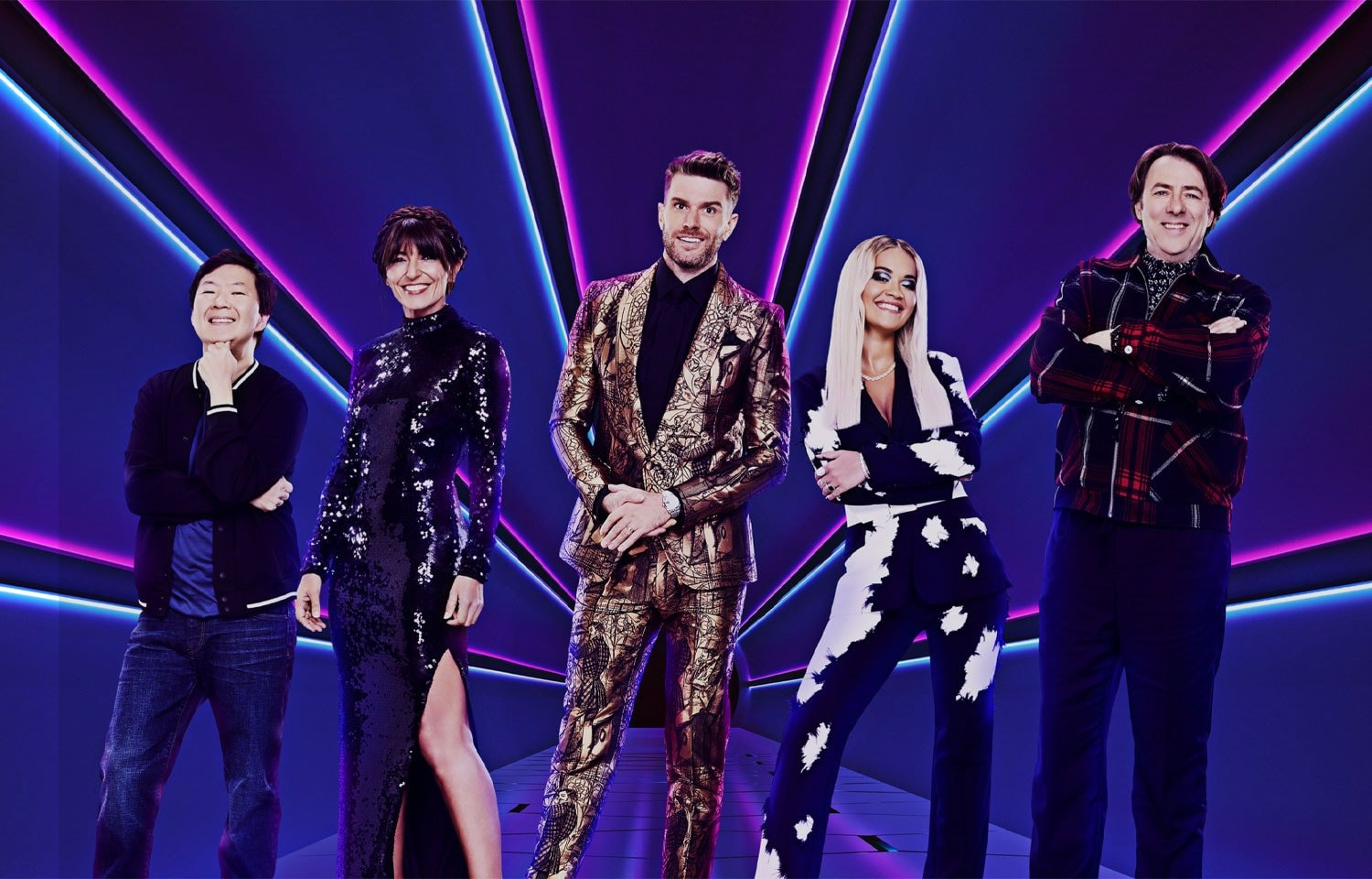 THE MASKED SINGER WITH JOEL DOMMETT AND JONATHAN ROSS
