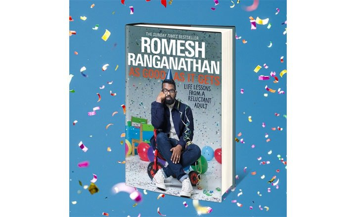 ROMESH RANGANATHAN TO RELEASE SECOND BOOK ON 15TH OCTOBER
