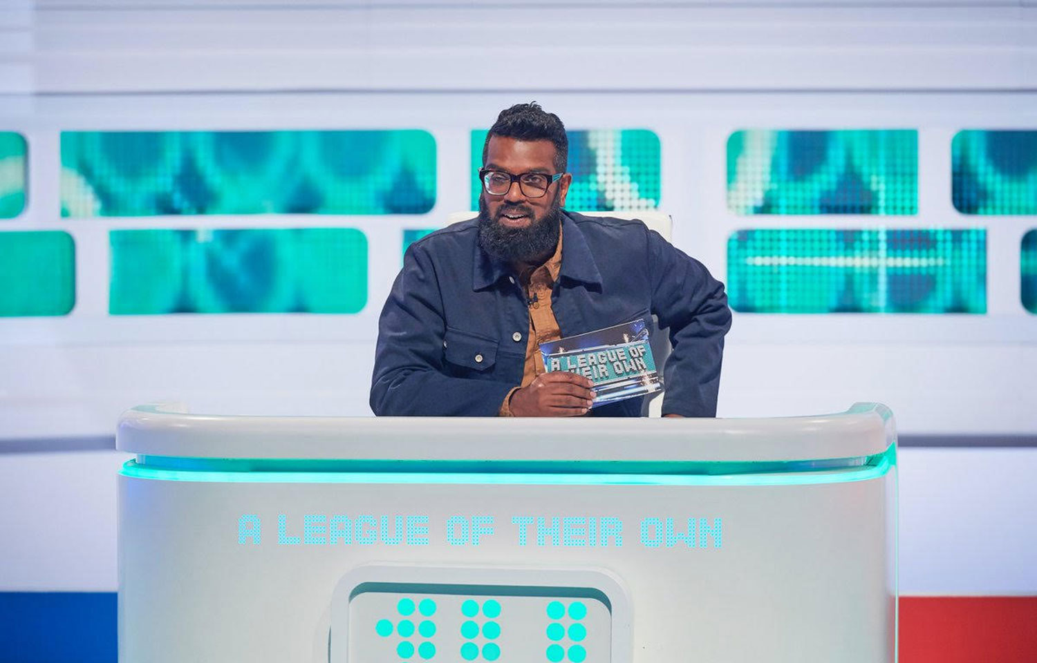 ROMESH RANGANATHAN HOSTS NEW SERIES OF A LEAGUE OF THEIR OWN