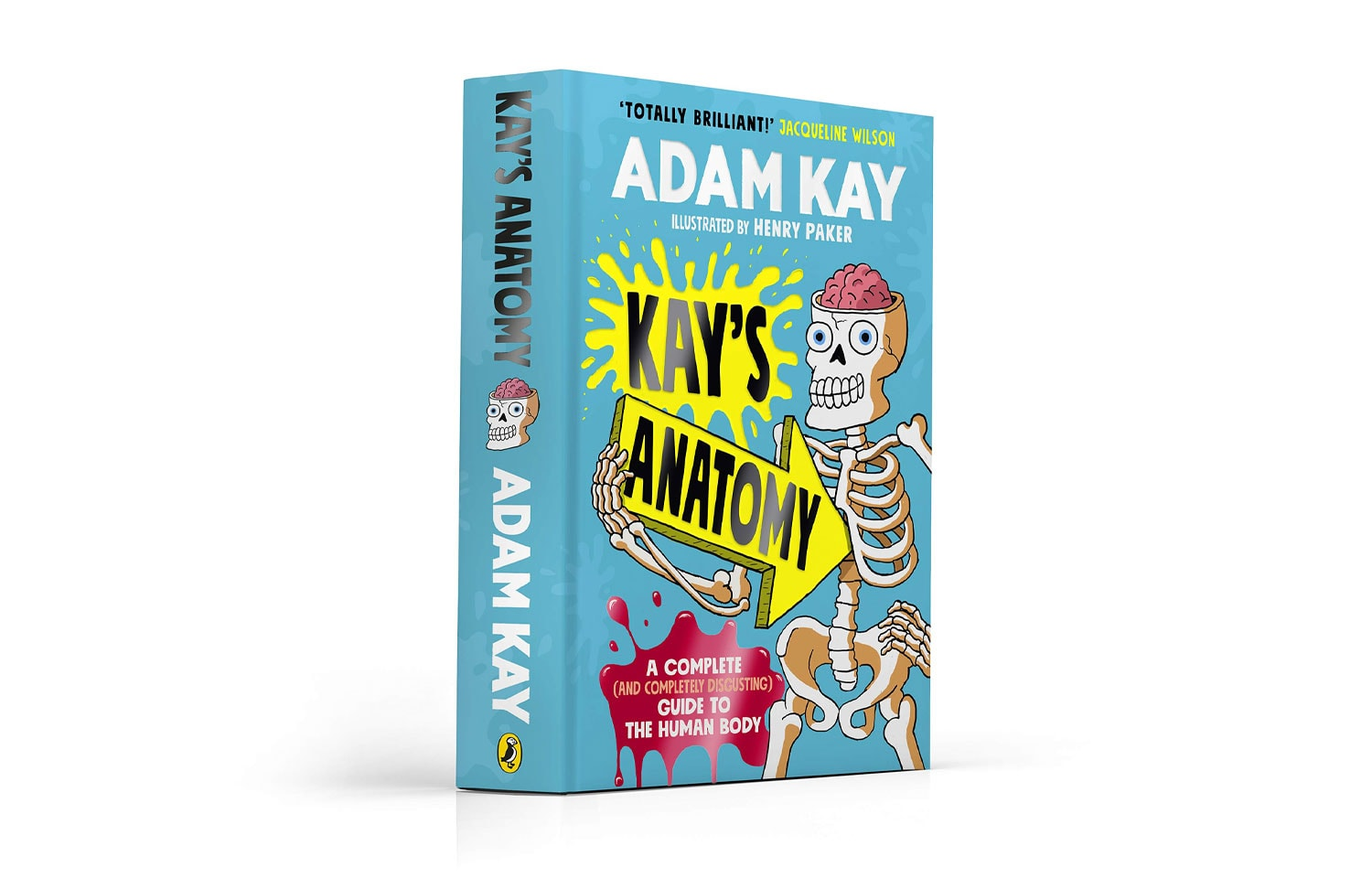 KAY'S ANATOMY ILLUSTRATED BY HENRY PAKER OUT NOW