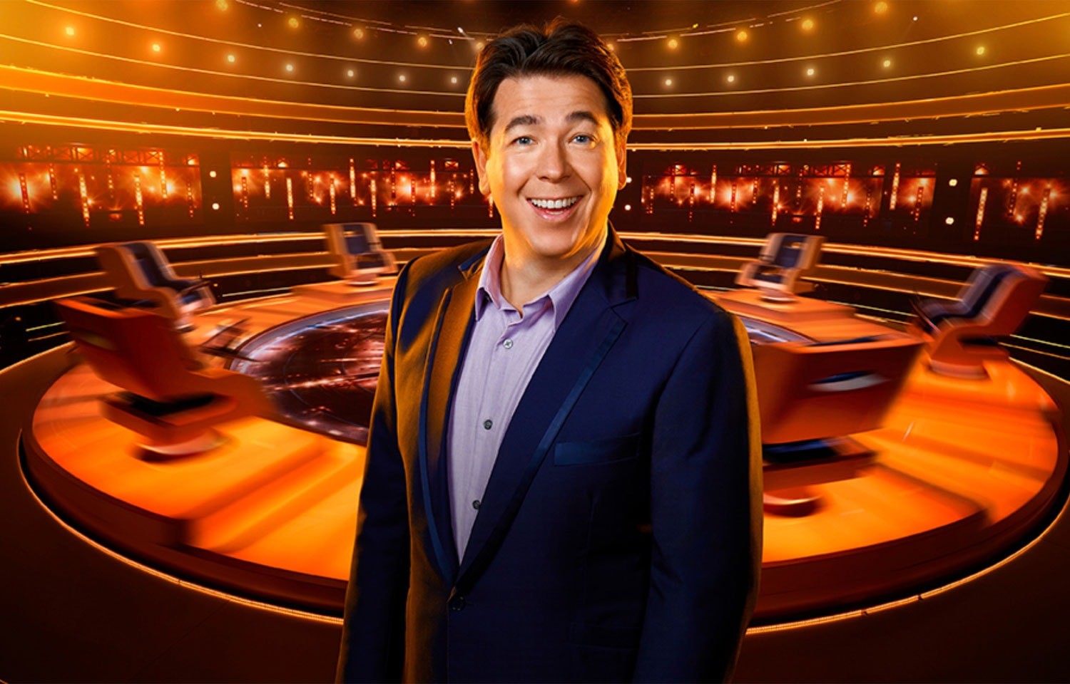 MICHAEL MCINTYRE'S THE WHEEL SPINS BACK TO BBC ONE