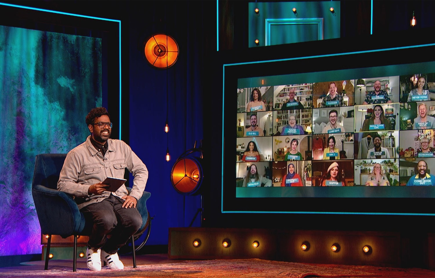 ROMESH RETURNS WITH THE RANGANATION ON BBC TWO