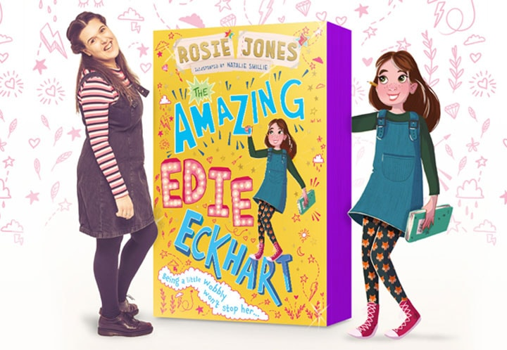 ROSIE JONES SIGNS TWO-BOOK DEAL WITH HACHETTE CHILDREN'S GROUP