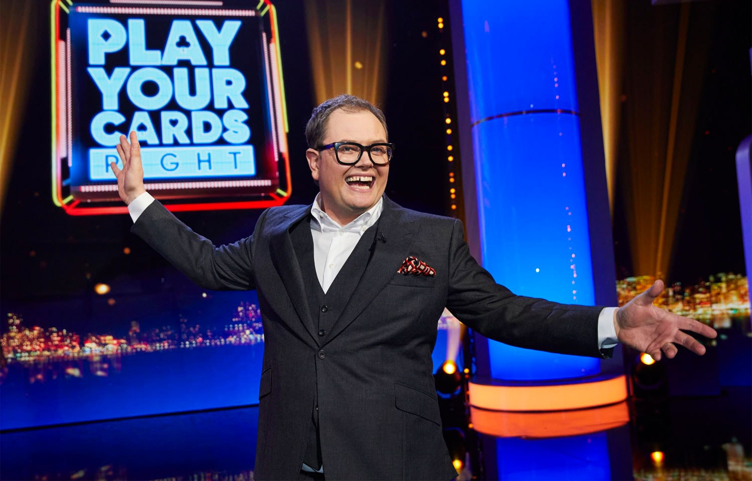 ALAN CARR'S EPIC GAMESHOW RETURNS FOR A SECOND SERIES