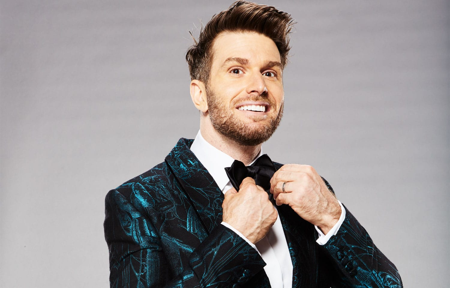 JOEL DOMMETT UNMASKED AS THE NATIONAL TELEVISION AWARDS HOST
