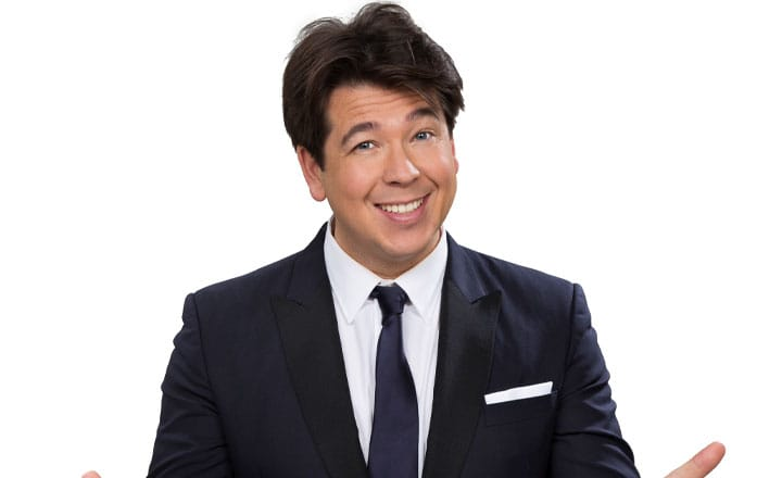 MICHAEL MCINTYRE NOMINATED FOR TOURING ARTIST OF THE DECADE