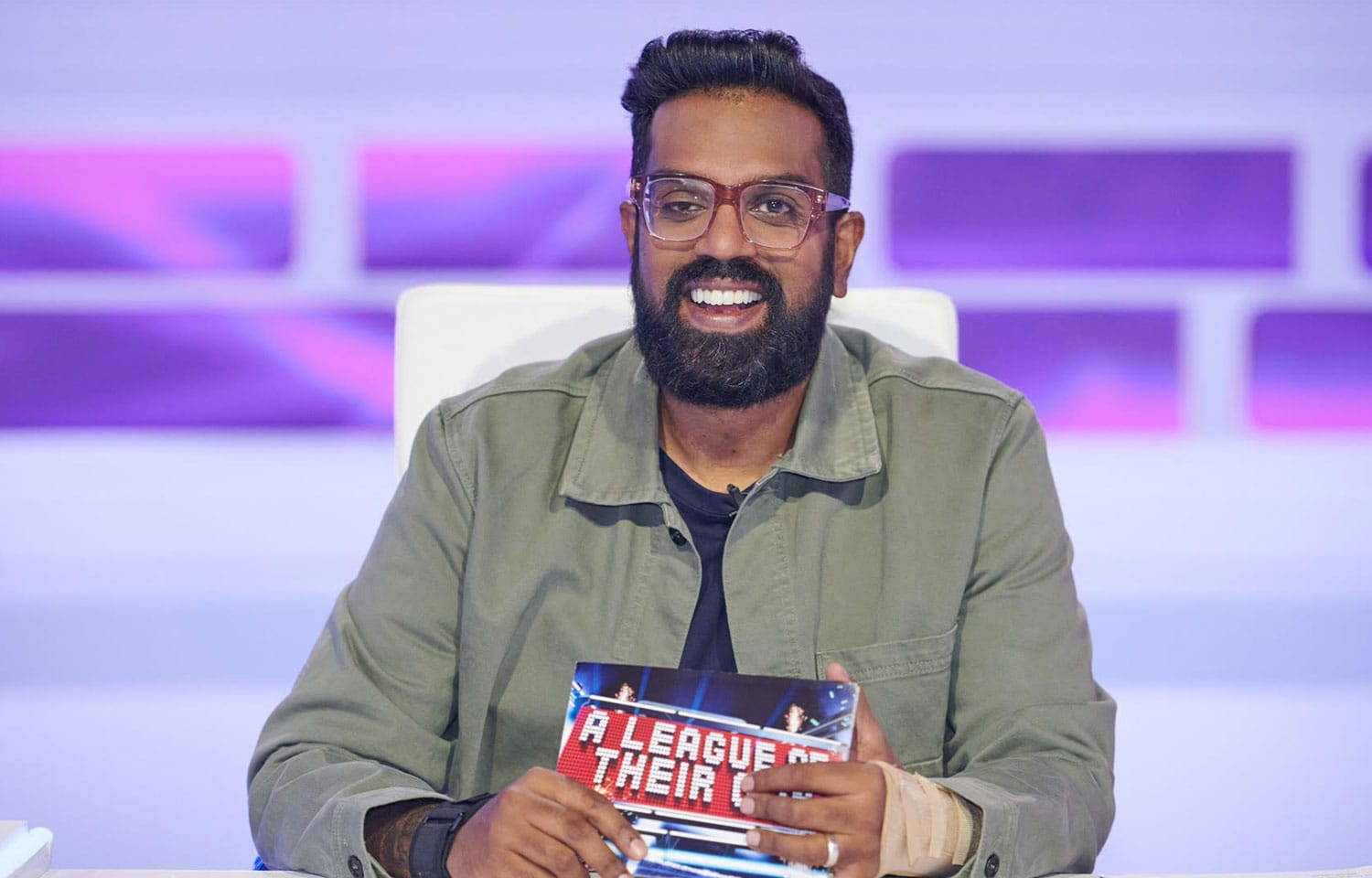 ROMESH TAKES OVER AS NEW HOST OF A LEAGUE OF THEIR OWN