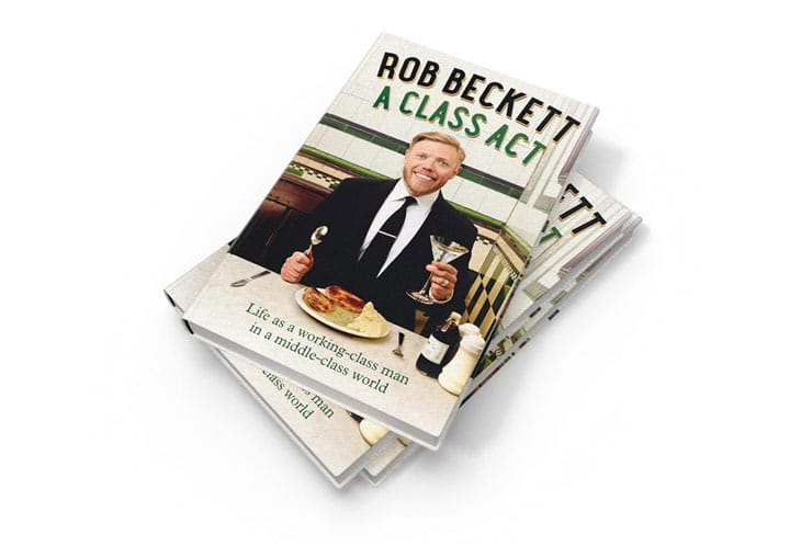 ROB BECKETT'S BOOK A CLASS ACT IS RELEASED TODAY
